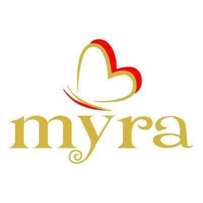 logo myra color oro